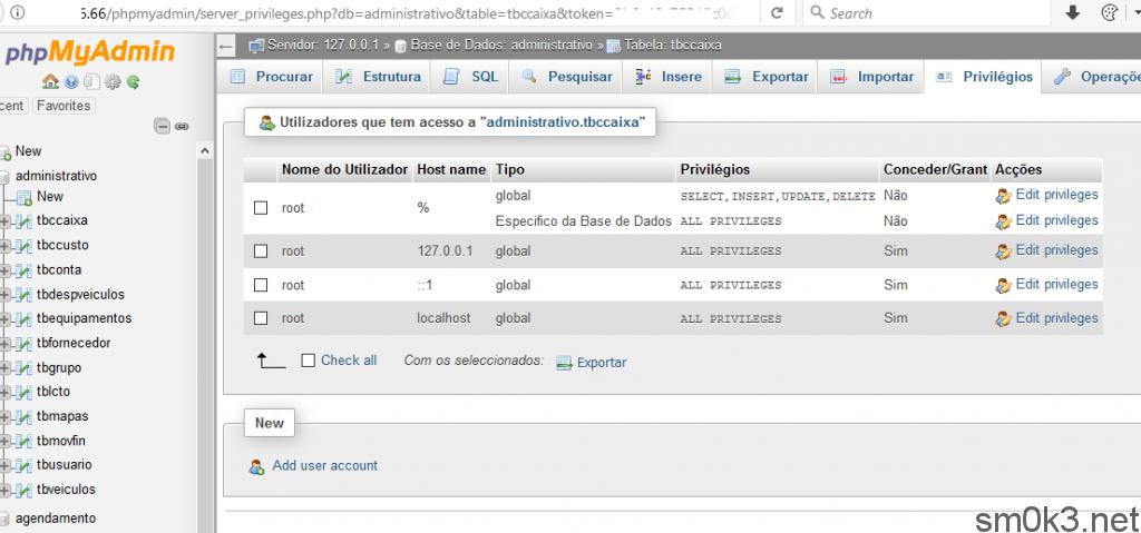 target-database-mysql-phpmyadmin